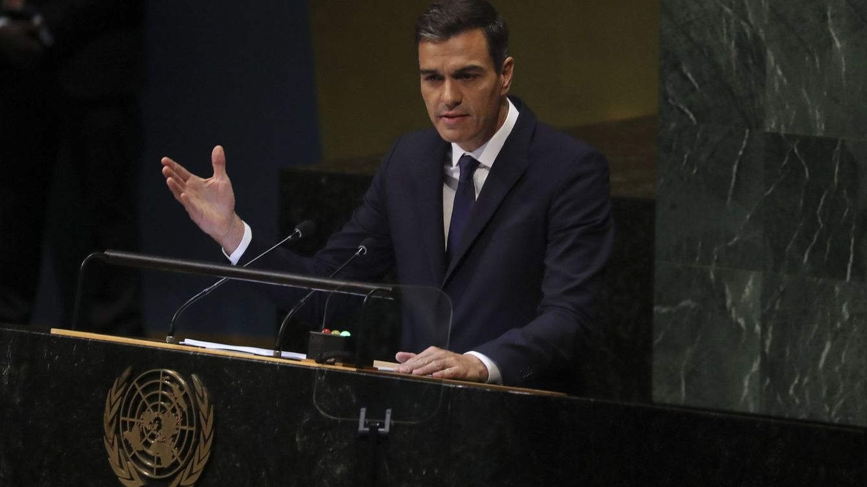 Pedro Sánchez rechaza ante la ONU los mensajes nacionalistas o excluyentes