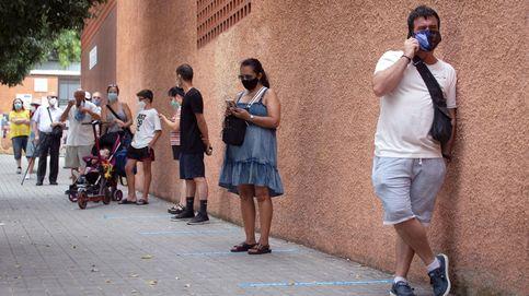 Cataluña supera los 1.000 contagios por tercer día a la espera de los test masivos