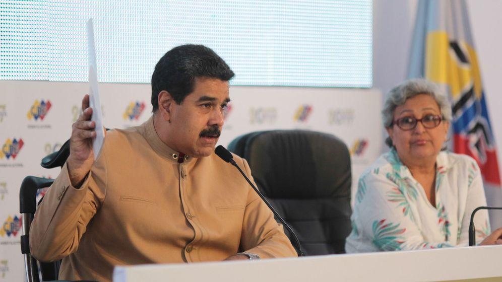 Foto: Fotografía cedida por la oficina de prensa del Palacio de Miraflores que muestra al presidente de Venezuela, Nicolás Maduro. (EFE)