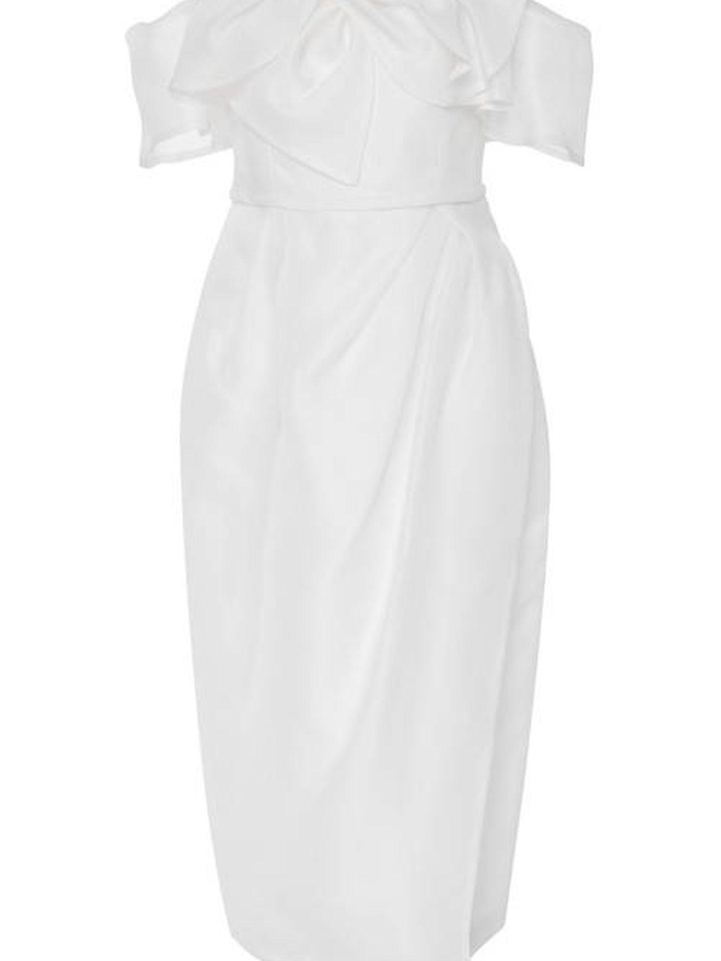 Vestido Hailey de Carolina Herrera Bridal. (Cortesía)