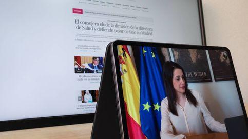 Arrimadas: Intentaré que la ideología de Podemos no triunfe en lo económico