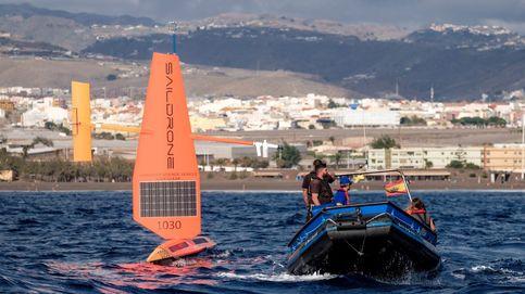 Dos veleros robotizados en Gran Canaria