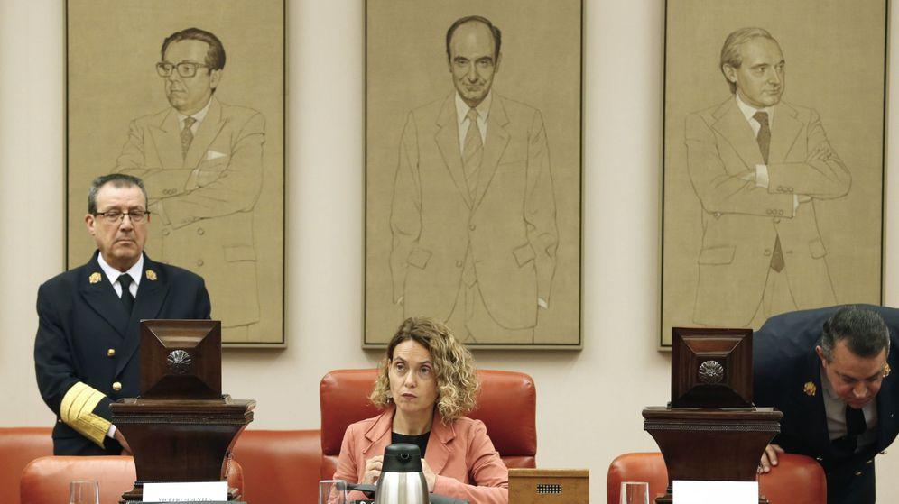 Foto:  La presidenta del Congreso de los Diputados, Meritxell Batet, en la Diputación Permanente de este martes. (EFE)