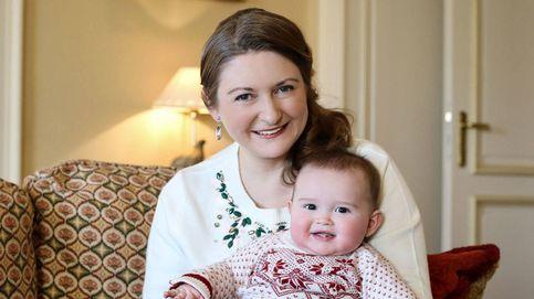 El pequeño Charles de Luxemburgo le roba el protagonismo a su madre, Stéphanie