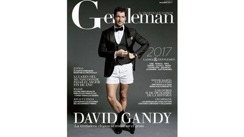 David Gandy, el mejor modelo del mundo, portada de Gentleman