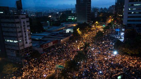 Manifestación contra el gobierno en Venezuela