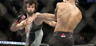 Post de UFC Moscú: el KO brutal de Roberts y el ascenso del doble ruso de Abraham Lincoln