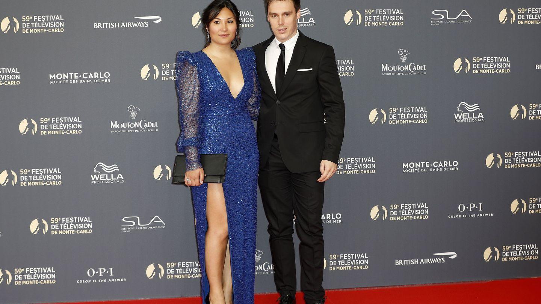 Louis Ducruet y Marie Chevallier. (Reuters)