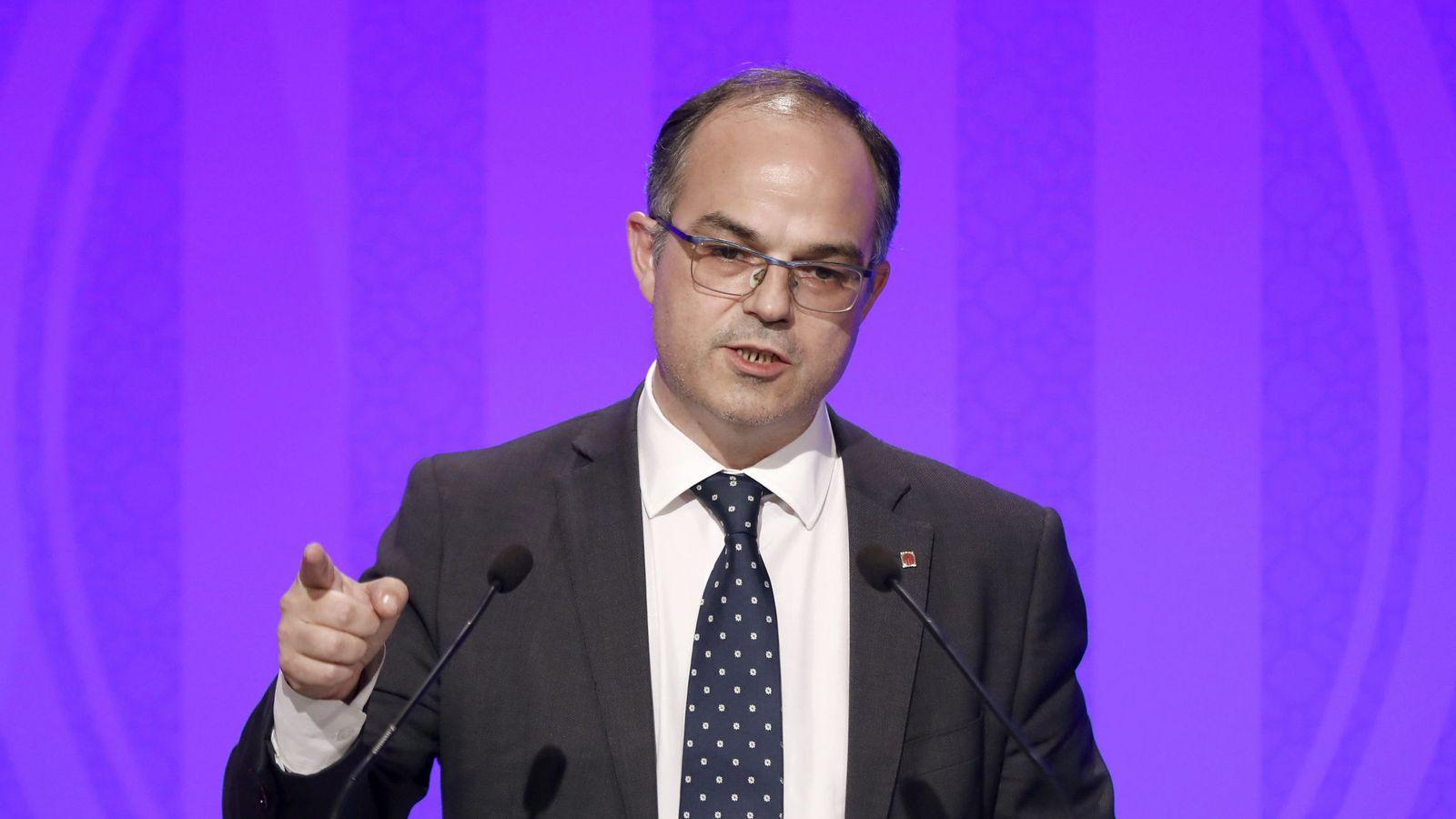 Foto: El 'conseller' de Presidencia y portavoz del Govern, Jordi Turull. (EFE)