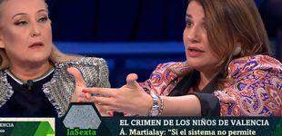 Post de Bronca entre Elisa Beni y María Claver en 'La Sexta noche':