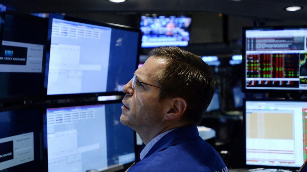 Foto: Un 'trader' en Wall Street. (EFE)