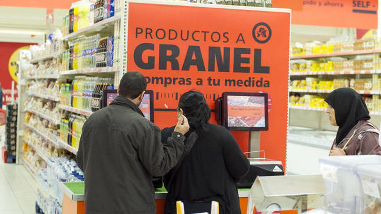 Las ventas a granel se han disparado en Alcampo.