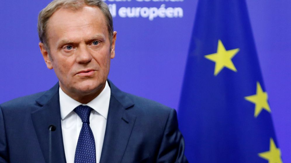 Brexit donald tusk presidente del consejo europeo es un for Presidente del consejo europeo