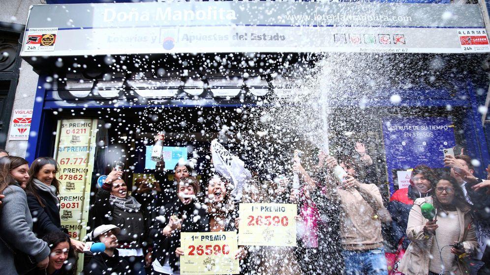 Foto: El número premiado con el Gordo de Navidad ha sido el  26.590. (Efe)