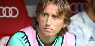 Post de La incógnita del 'viejo' Modric (con 33 años) en el Real Madrid