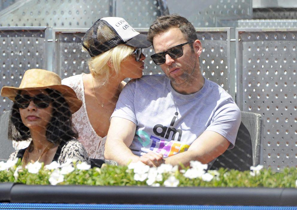 Foto: Adriana Abenia y Sergio Abad el pasado mes de mayo en el Madrid Open (Gtres)