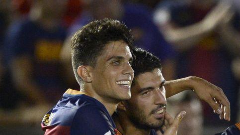 El Barcelona arranca con un cómodo triunfo en un partido que fue un simulacro