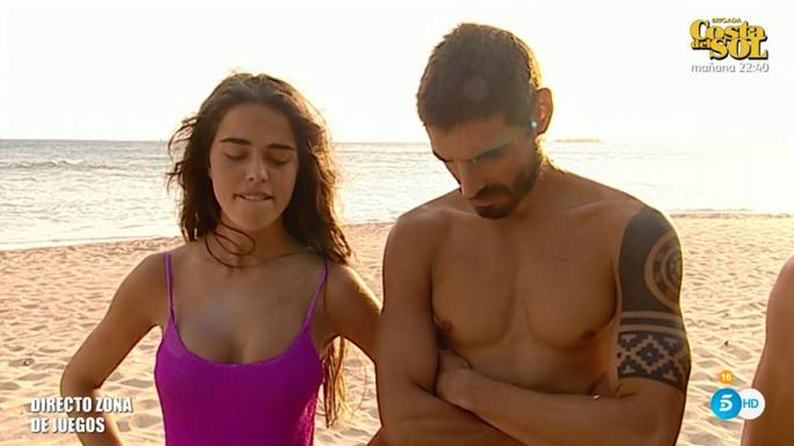 Foto: Violeta, castigada en 'Supervivientes 2019'. (Telecinco)