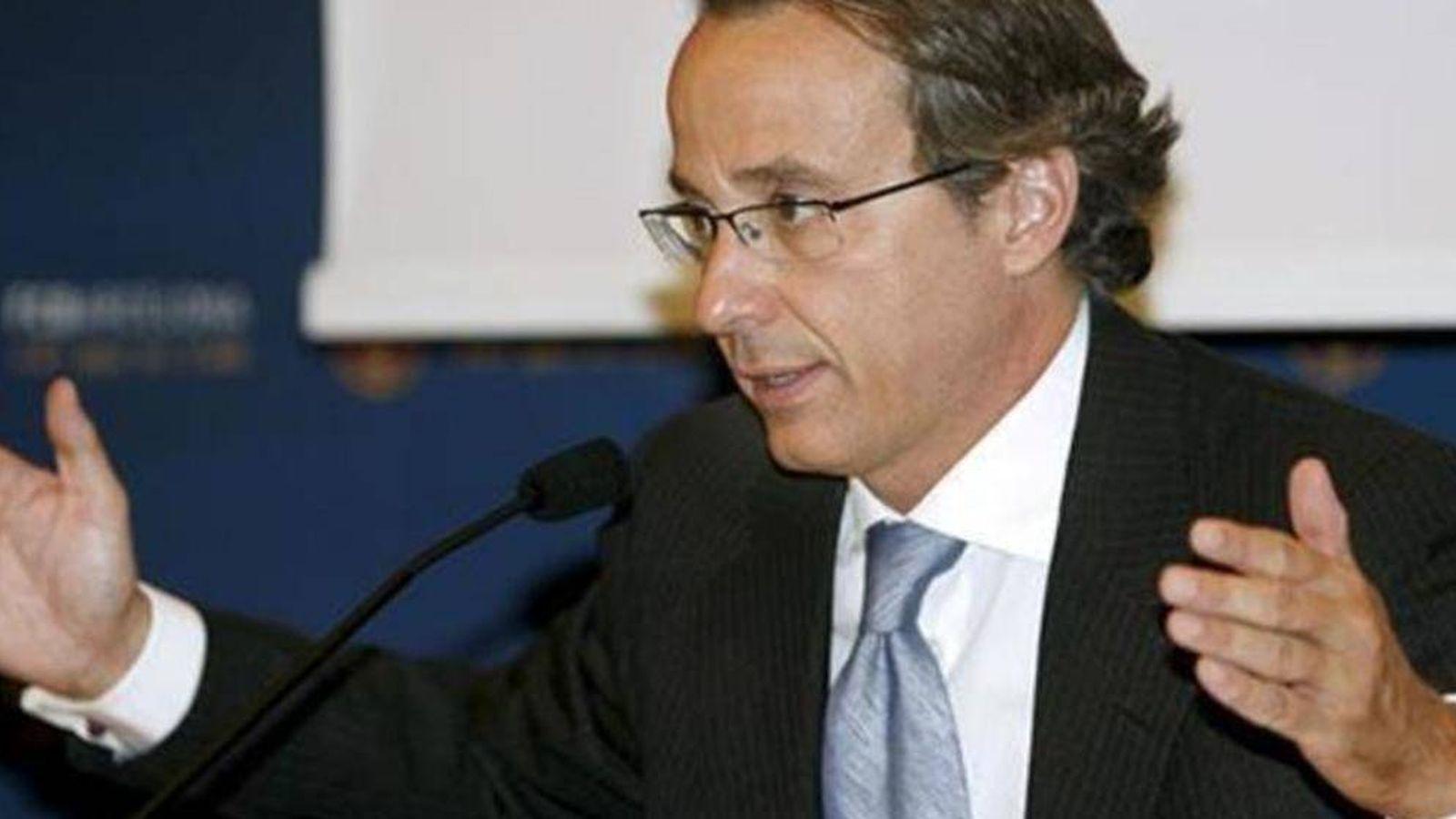 Foto: El empresario Javier Faus, fundador de Meridia