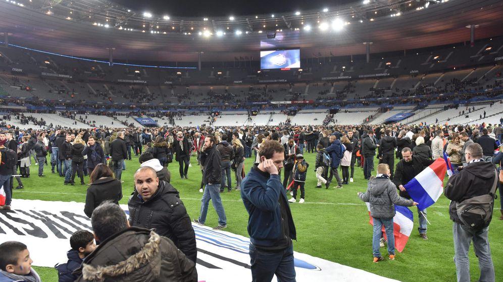 Foto: El estadio de Saint-Dennis tras el partido entre Francia y Alemania (Efe)