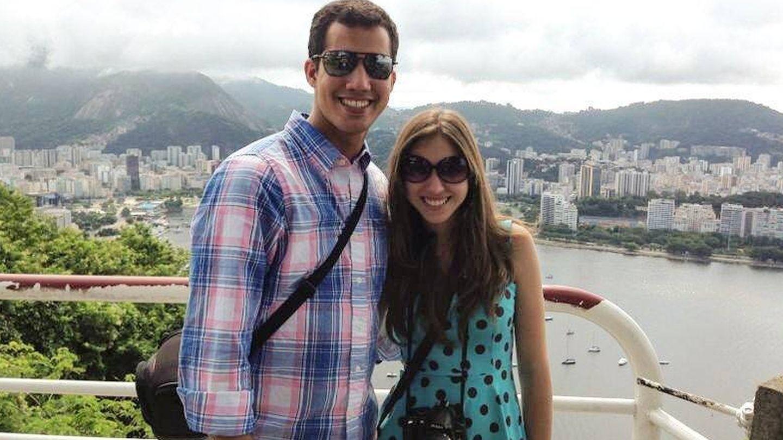 Fabiana y su marido, en una imagen de Instagram.