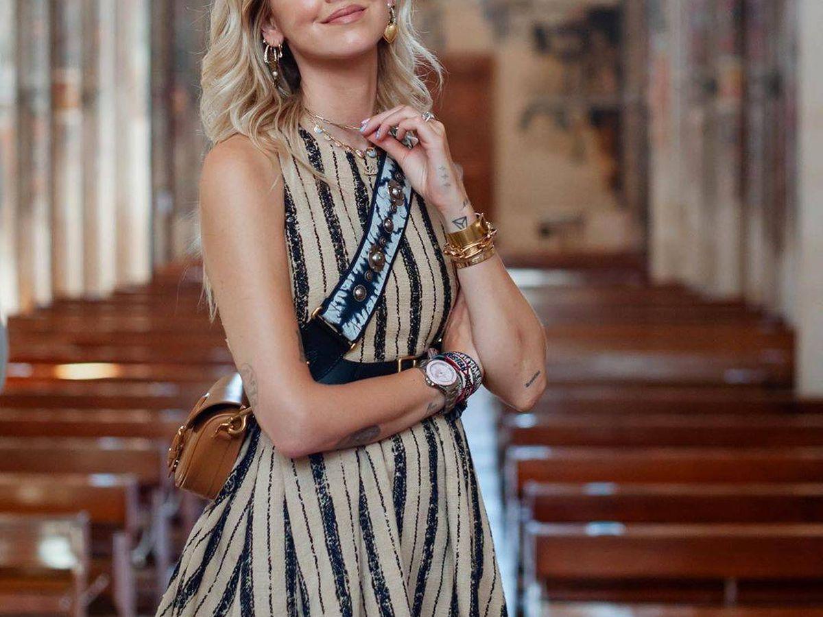 Foto: Chiara Ferragni. (Cortesía Dior)