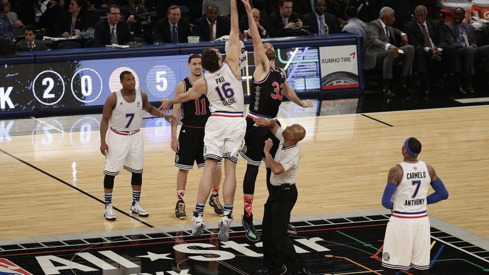 El público se vuelca con Kobe, pero deja fuera del All Star a Pau y Marc Gasol