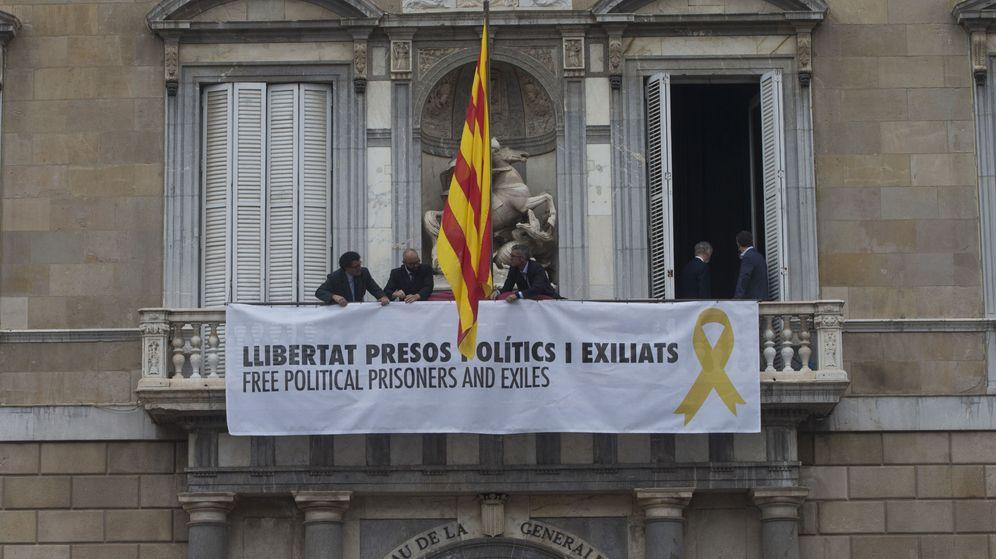 Foto: Toma de posesion del nuevo gobierno catalan