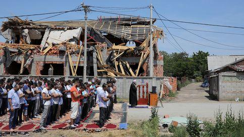 Los musulmanes de Belgrado tienen que improvisar