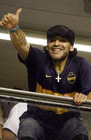 Foto: Maradona: El mejor del mundo es Ronaldinho y el resto está a gran distancia