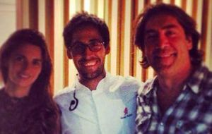 Penélope Cruz y Javier Bardem disfrutan de una romántica cena en Madrid