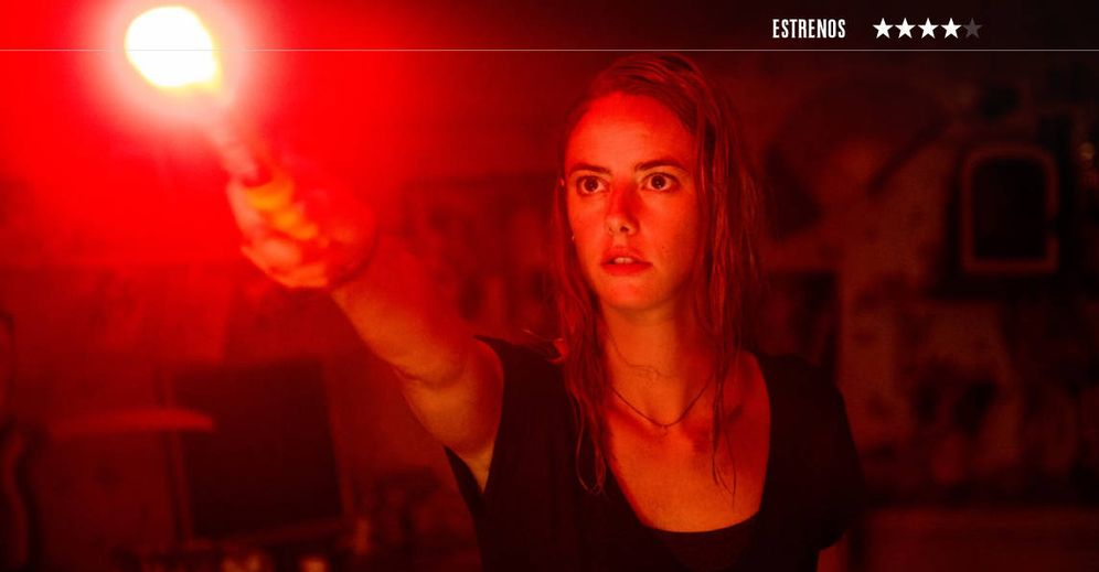 Foto: Kaya Scodelario protagoniza este 'thriller' fantástico de Alexandre Aja. (Paramount)