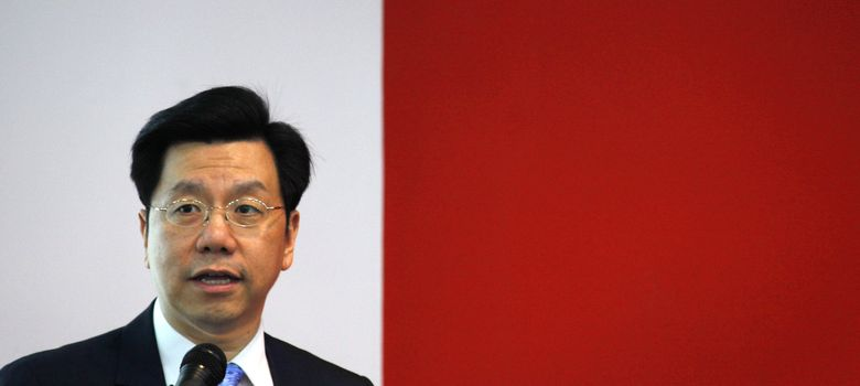 Foto: Li Kaifu, expresidente de Google China y antiguo vicepresidente corporativo de Microsoft, durante la presentación de su compañía en Pekín. (Reuters)