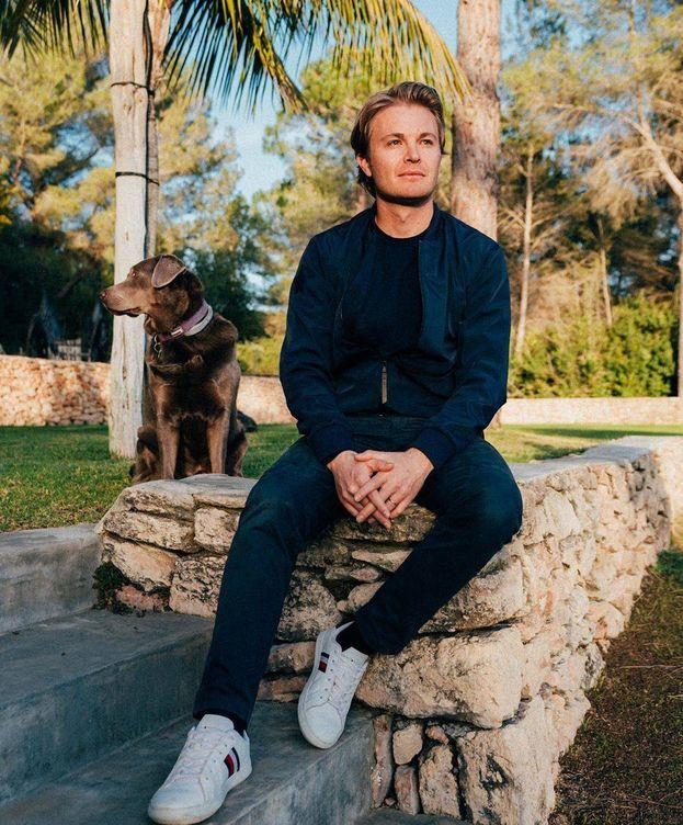 Foto: Nico Rosberg está pasando su confinamiento en Ibiza, junto a su mujer. (@NicoRosberg)