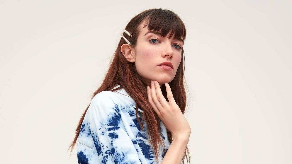 Foto: La propuesta tie-dye de Zara. (Cortesía)