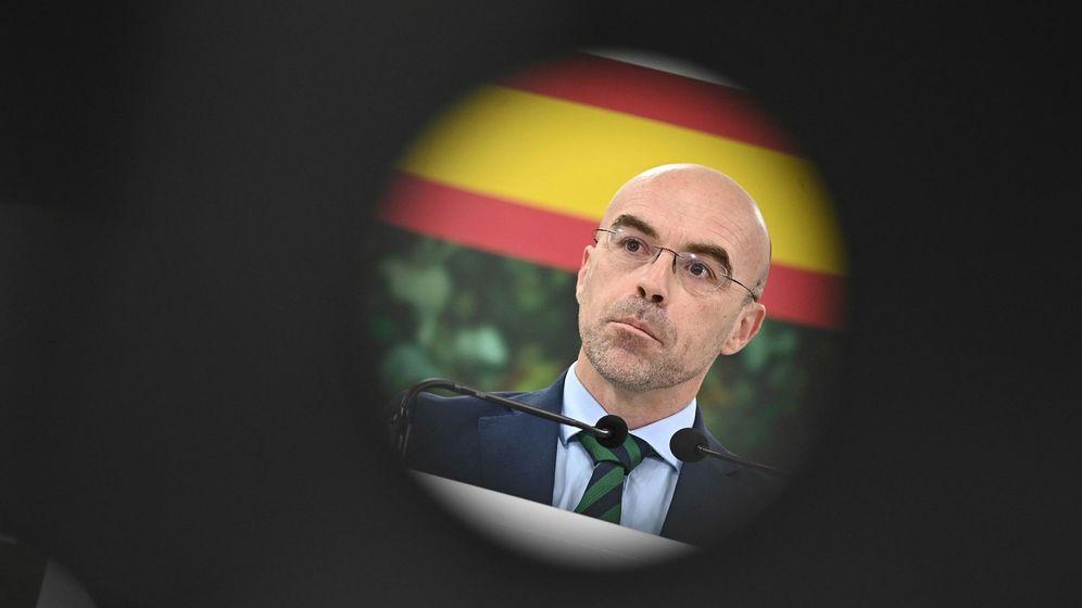 Foto: El eurodiputado y portavoz de Vox Jorge Buxadé. (EFE)