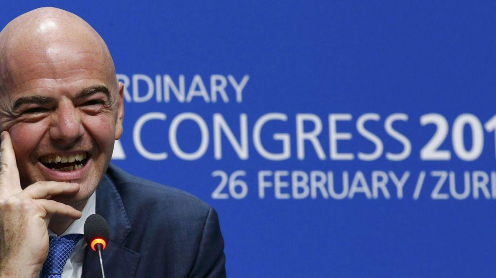 Foto: Infantino presidirá la FIFA hasta 2019 (Efe)