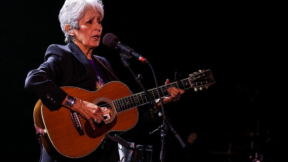 Joan Báez se baja del escenario: Quiero pensar en el futuro, que es envejecer