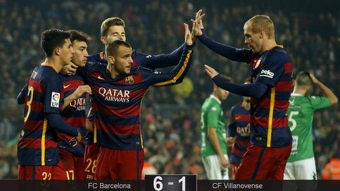 El Barcelona usa la Copa como terapia para levantar el ánimo a Sandro y Munir