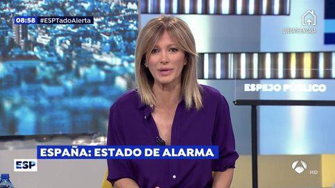 Críticas a Susanna Griso por su ¿desafortunado? comentario sobre el teletrabajo por el coronavirus
