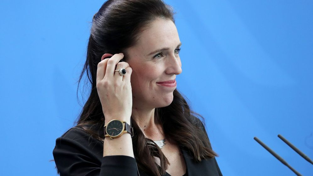 Foto: La primera ministra neozelandesa da a luz a una niña en un hospital público. (EFE)