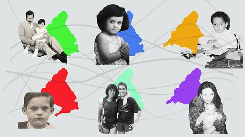 Así eran los candidatos en su infancia: familia, colegio privado y divorcios