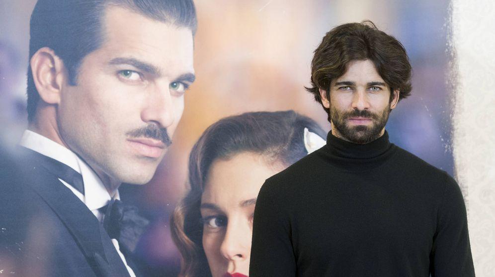 Foto: Rubén Cortada en la presentación de 'Lo que escondían sus ojos'. Imagen: Juan Naharro.