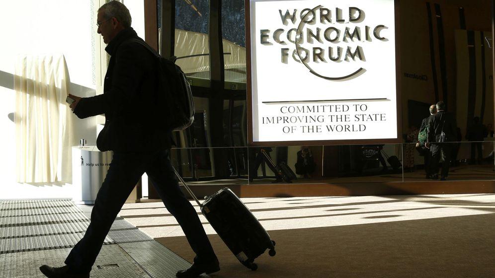 Foto: Entrada al Congreso del Foro Económico Mundial en Davos, Suiza. (Reuters)