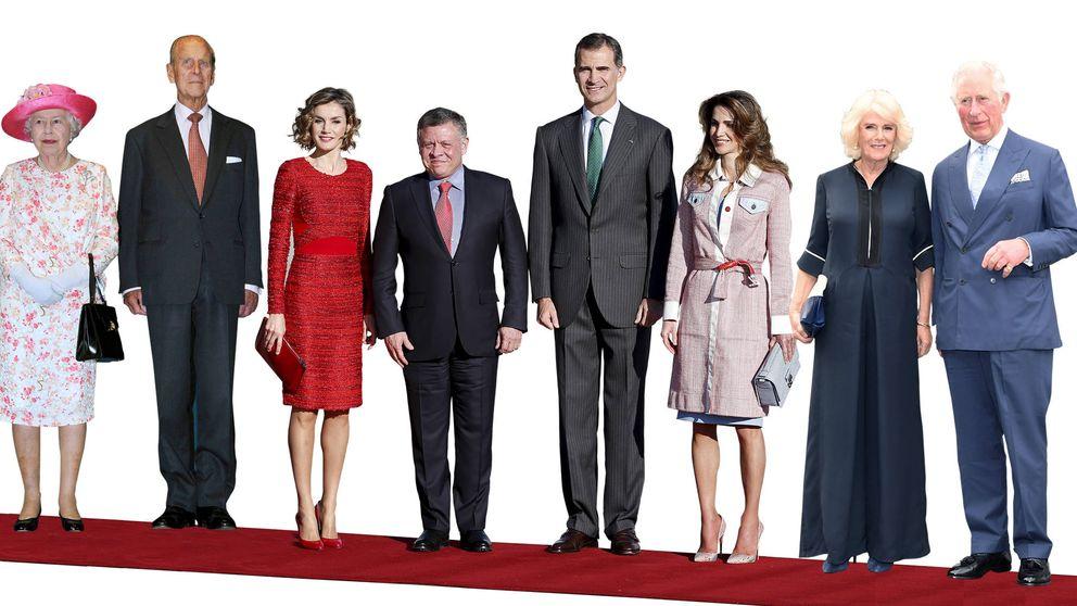 ¿Es más alta Letizia o Rania? ¿Y Kate o Meghan? Lo que miden los royals