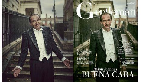 Ralph Fiennes, el actor más camaleónico del momento, portada de Gentleman