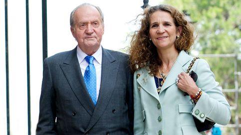 La infanta Elena alarga su visita a Juan Carlos I en Abu Dabi y vuelve una semana más tarde