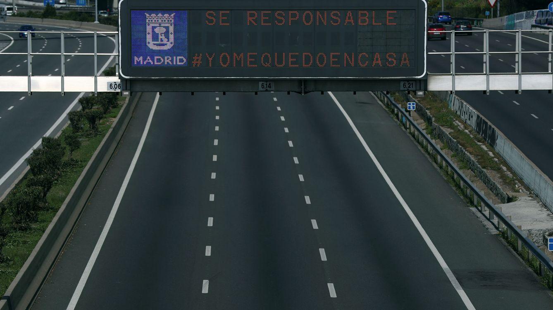 El cierre total se nota: cae a la mitad el tráfico en Madrid y la demanda eléctrica baja un 4%
