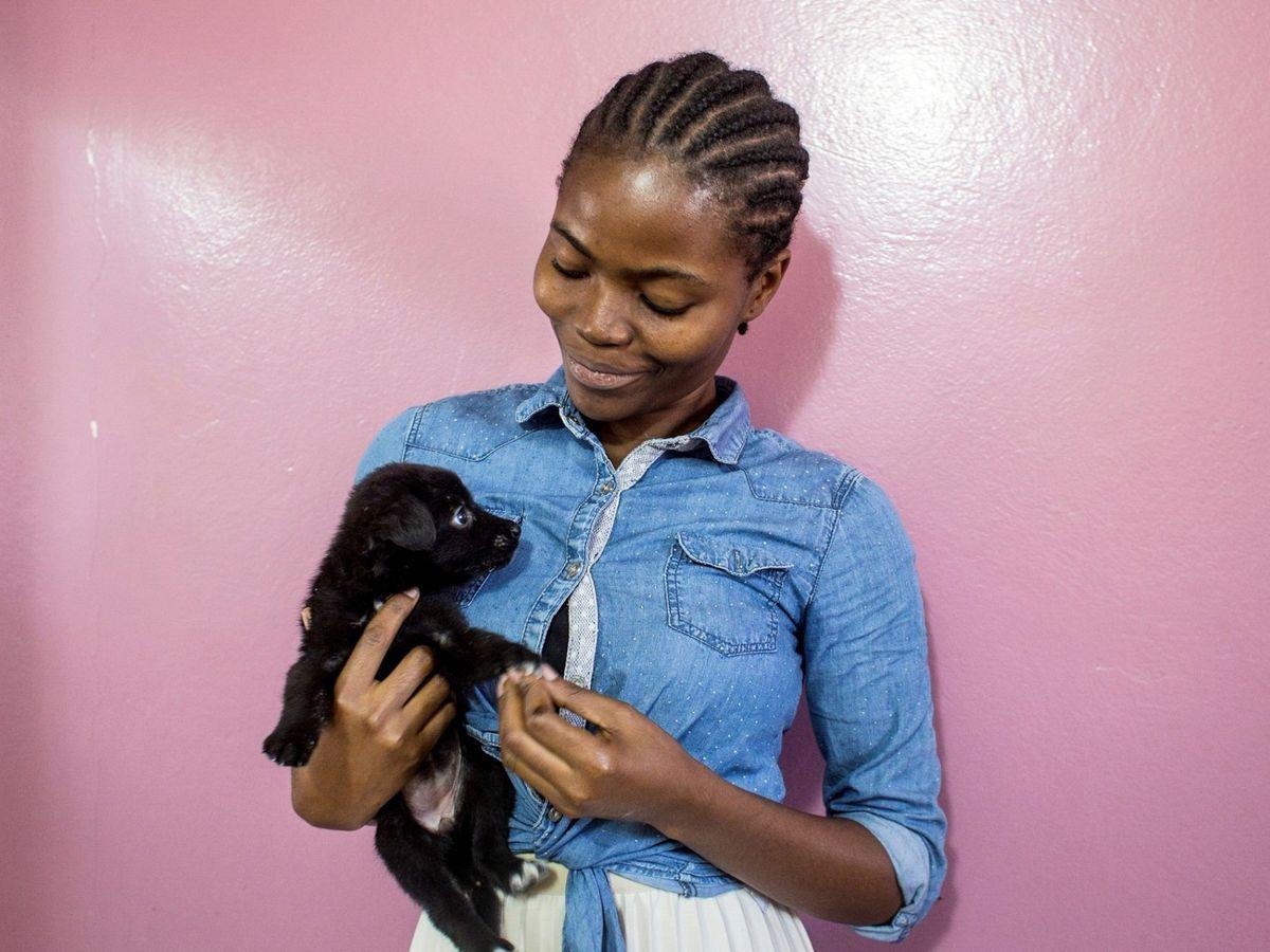 Foto: Los perros nos muestran constántemente amor. Foto: EFE Maria Rodriguez