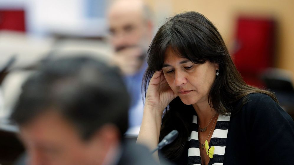 Foto: La portavoz de Junts per Catalunya en el Congreso, Laura Borràs. (EFE)